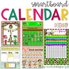 December SMARTBoard Calendar ***Common Core Aligned*** Fir