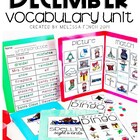 December Vocabulary Unit- Boardmaker Curriculum for Studen