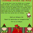 December Writing Activities:  Christmas Around the World