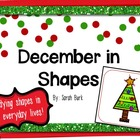 December in Shapes - PK, K, 1