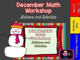 "December to the ""Core"" Math Workshop Activities and Stations"