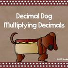 Decimal Dog- Multiplying Decimals Task Cards