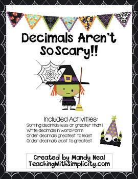 Decimals Aren't So Scary