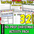 Deck the Halls: 25 Christmas Activities for Elementary Students
