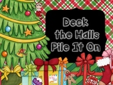 Deck the Halls a Christmas Pile It On... Math game for older kids