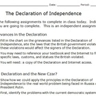 Declaration of Independence Differentiation