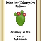 Declarative or Interrogative Sentence Task Cards