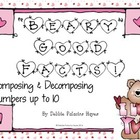 "Decompose Numbers: ""Beary Good Facts"" Combinations up to 1"