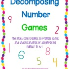 Decomposing Number Games