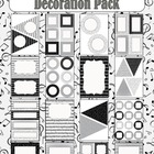 Editable Decoration Pack - Music