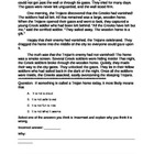 Deductive Reasoning Student Worksheet