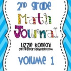 Deep Thinking Math Journal-Set 1 for Second Grade