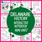 Delaware History Lesson-Common Core-Audio Included!