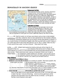 Democracy and Law in Ancient Greece Worksheet