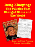Deng Xiaoping Primary Source Reading