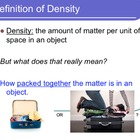 Density of Liquids - Lesson Presentation, Lab Experiment,
