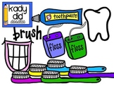 Dental Health Clipart {Kady Did Doodles}