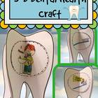 Dental Health Craft: {3D Tooth Brushing Sequencing Craftivity}