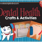 Dental Health Crafts Activity Pack