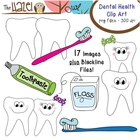 Dental Health Set: Clip Art Graphics for Teachers