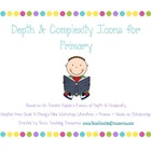 Depth and Complexity Anchor Charts for Primary