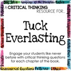 Depth and Complexity Companion for Tuck Everlasting