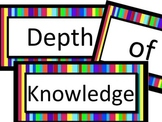 Depth of Knowledge LA Printable Poster Set