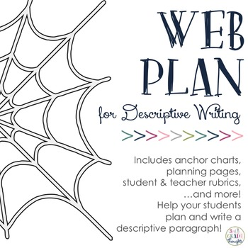 Descriptive Writing: Sensory Web Planning Packet