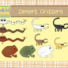 Desert Critters Graphics Set {Free}