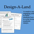 Design A Land: Introducing Formal Essay Writing with Creativity