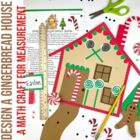 Design a Gingerbread House (Measurement Activity)