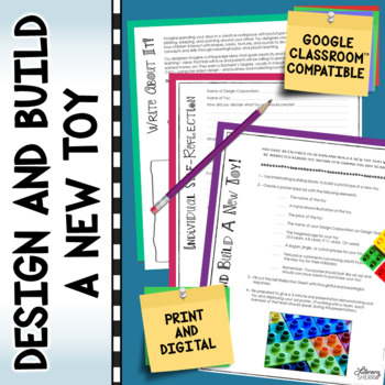 Design and Build a New Toy (Common Core Aligned)