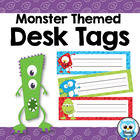 Desk Tags - Monster Themed