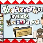 Detecting Good Behavior (Detective Themed Clip Chart Behav