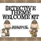 Detective Themed Welcome Kit