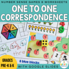 Developing One to One Correspondence - Math Counting Centers