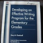 Developing an Effective Writing Program for the Elementary Grades
