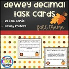 Dewey Decimal Task Cards - Fall Theme