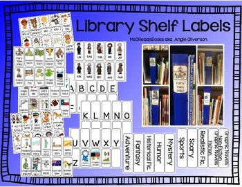 Dewey Shelf Labels