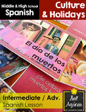 Dia de los Muertos: Intermediate, Advanced Spanish Bundle