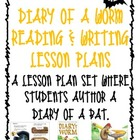 Diary of a Worm - Reading & Writing Lesson Plans - also gr