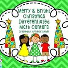 Differentiated Christmas Holiday Math Centers