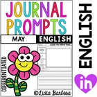 Differentiated Journal Prompts- May Themes
