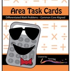 Area Task Cards – Differentiated Math Problems – Common Co