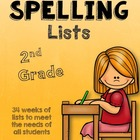 Differentiated Spelling Lists