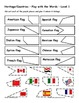 Differentiated Vocabulary Packet for ESL Students - Countries