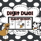 Digit Duel Subtraction Edition
