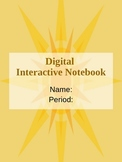 Digital Interactive Notebook on Powerpoint