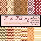 Digital Paper Pack- Free Falling