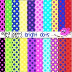 Digital Papers - Bright Dots